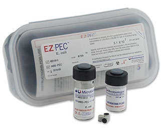 EZ-PEC for Antimicrobial Effectiveness Testing